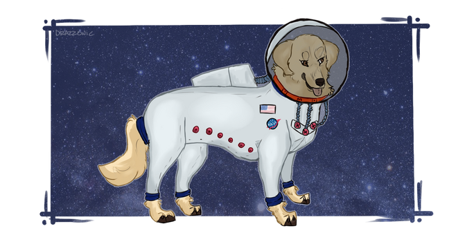 Spaceiplier Chica by drazzonic