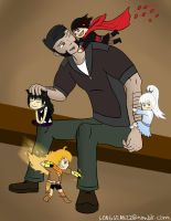Tukson attacked by RWBYlings by LongSean22