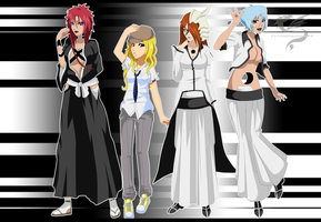Bleach oc - Cosplaying by FlyingDragon04
