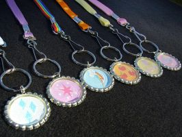 My Little Pony Friendship is Magic Lanyards by Monostache