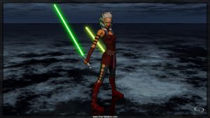 Clone Wars Ahsoka Tano by Crimsonight