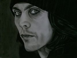 Lovely Ville Valo by lackasleep