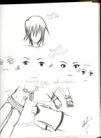 Lol, randomness for my charas redesign. by KoriNeko18