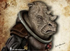 Dr Who Judoon by webmartin99