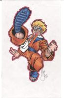 naruto roundhouse by chris-foreman