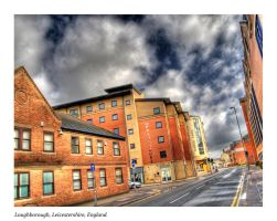 Town Street View HDR by nat1874