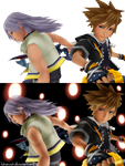 Side by Side   COMPARISON before and after editing by HakuMizuki