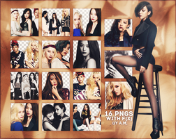 #F(X) PNG PACK, 16 PNGS by Aomisaki