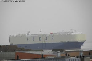 Japanese car carrier Morning Claire 2012- by roodbaard1958