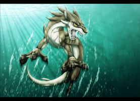Predator of the emerald waters by norochan