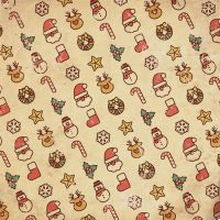 Vintage Christmas Pattern by CfbMega