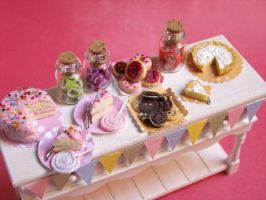 Miniature Food - Birthday Part by PetitPlat