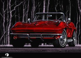 Chevrolet Corvette C2 Stingray by tonio48