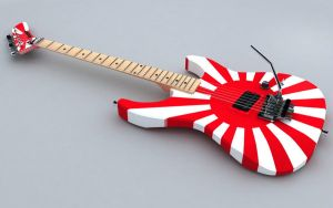 rising sun guitar pattern by joeliveros