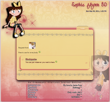 Request Sophie Journal by DBluver