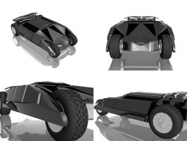 new generation BATMOBILE by ytech