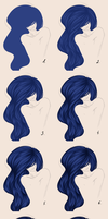 .:Hair Tutorial:. by EvilZera