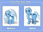 Draw This Again! Meme - Ponies by Sparkle-And-Sunshine
