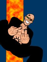 Spider Jerusalem - Colored by Bbedlam