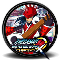 MegaMan: Battle Network Chrono X - Icon by Blagoicons