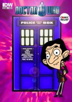 Comic Relief - Doctor Who Comic Book by mikedaws