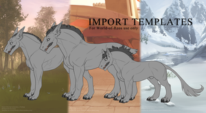 Official Import Templates by Pudingi