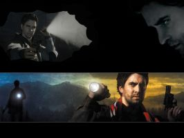 Alan wake concept art by masterpeing