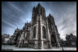 Bristol Cathedral Wide Angle by nicholls34
