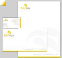 Sight Media Stationary by daliadash