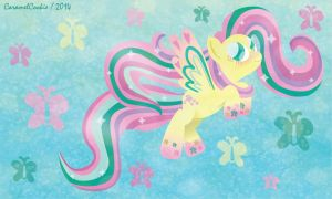 Rainbow Power Fluttershy by CaramelCookie