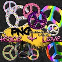 Peace_and_LOve_PNGs by juststyleJByKUDAI