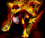 Heart of Fire:b-day gift by 9tailsfoxyfoxy