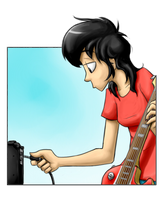 Guitar Lady by ArturoEz