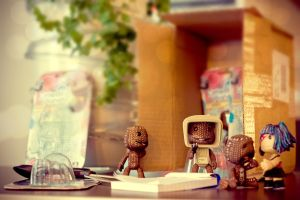 Welcome Sackboys 3 by floriske
