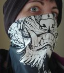 Foo bandana print by missmonster