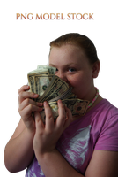 Show me the Money PNG MODEL STOCK by KarahRobinson-Art