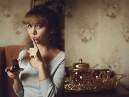 Coffee and cigarettes: Marine by forgotten-tale