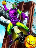 GREEN GOBLIN by CThompsonArt