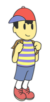 Ness Vector by pikmin789