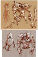 even more Creature Sketches by Axel13-Gallery