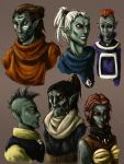 Dunmer of Morrowind by ankalime