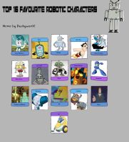 My Top 16 Favorite Robotic Characters by Toongirl18