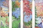 Four Seasons on the Path by Spiralpathdesigns