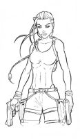 Lara Croft by Grifther