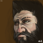 Gilgam Face by SabreWing