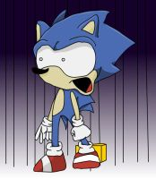 Sonic's Reaction by Dunkington
