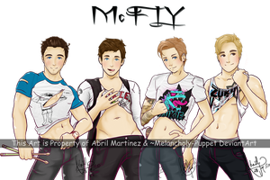 MCFLY by Melancholy-Puppet