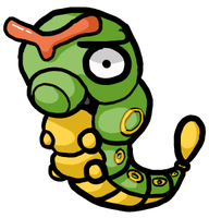 That's an odd Caterpie... by JellyTheTangrowth