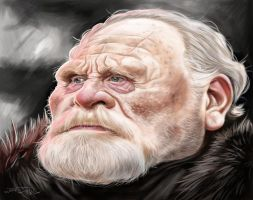 LORD COMMANDER MORMONT by JaumeCullell