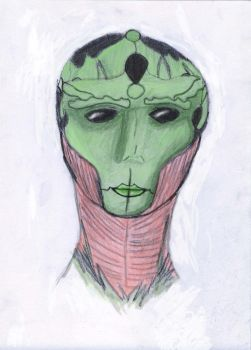 Drell Male Mass Effect by Jinx0cookie